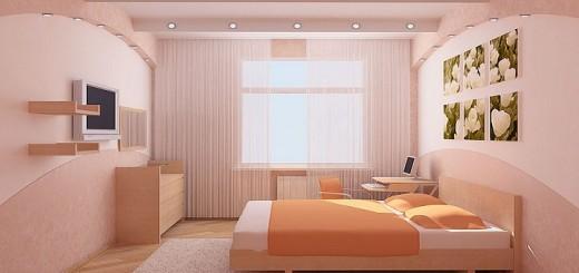 Ремонт в спальной комнате